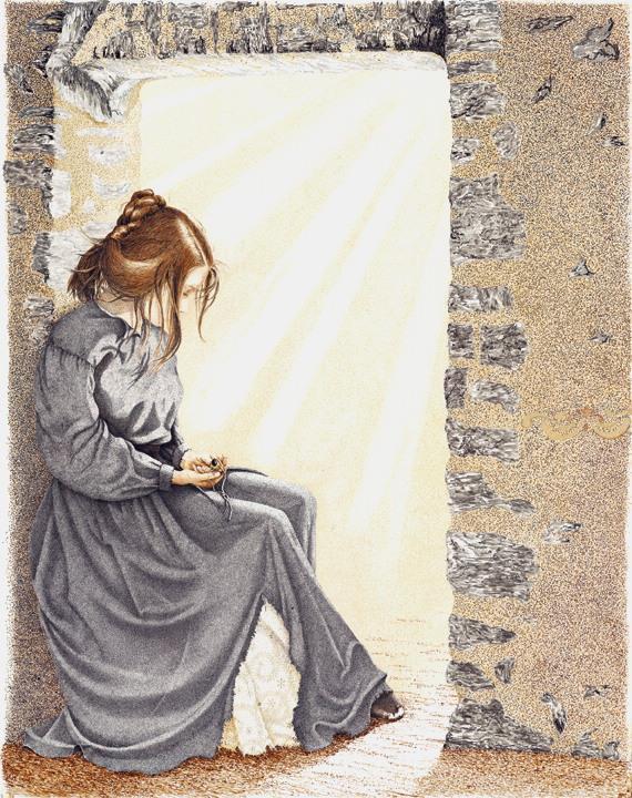 Sherry Steele Artwork - Lady of the Alamo