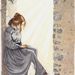 Sherry Steele Artwork - Lady of the Alamo