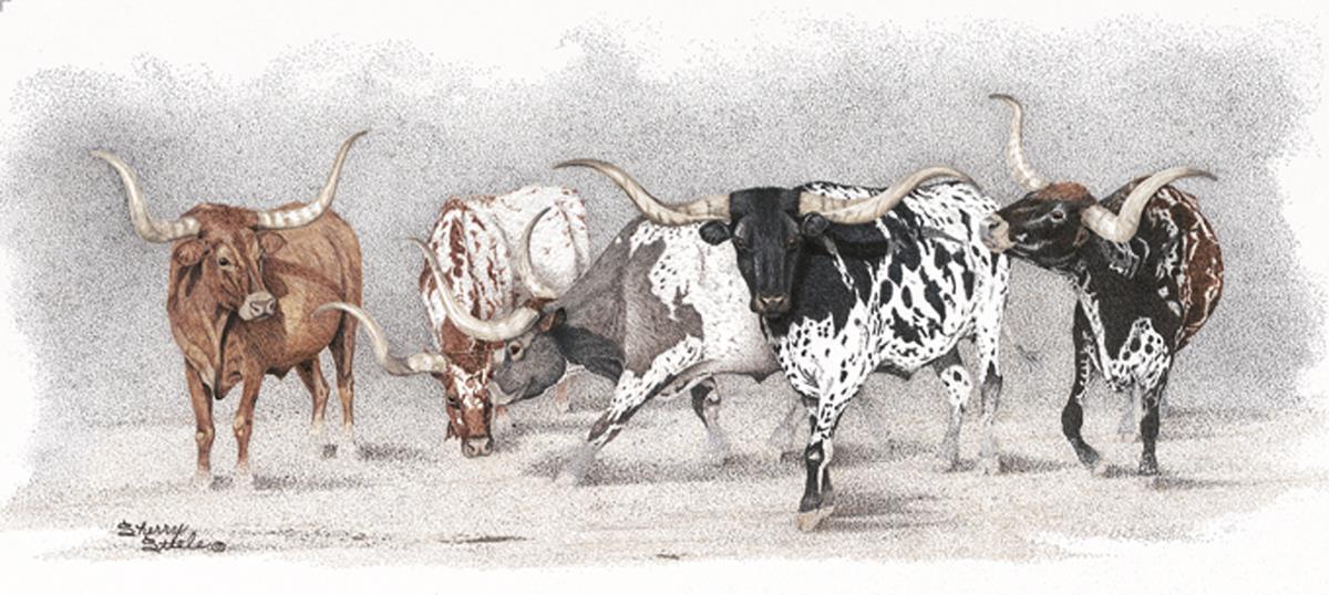 Legends of the West   Longhorns