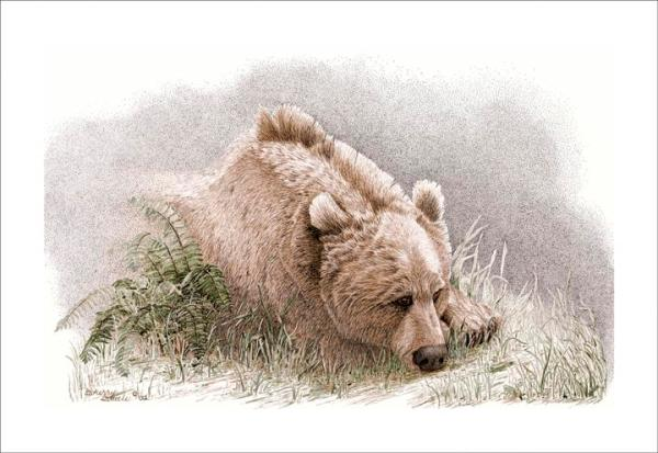 Sherry Steele Artwork - Sentimental Journey | Bear
