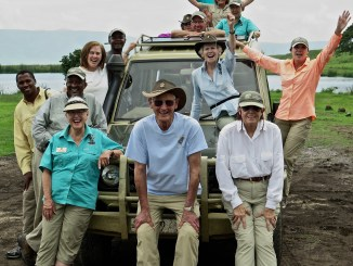 Sherry Steele Artwork - Safari Trip