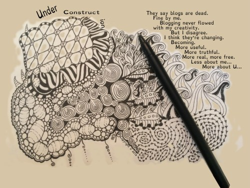 Zentangle re-blogs