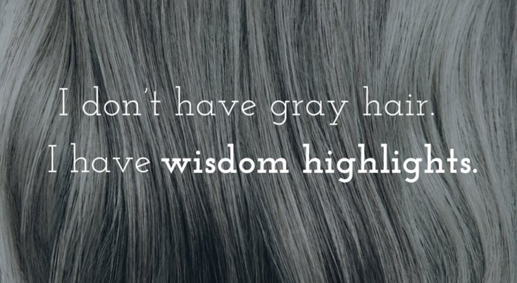 Grey Hair, Don't Care