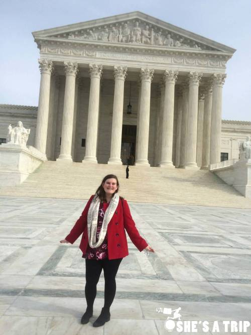 What was it like at Trump's inauguration Empty Supreme Court