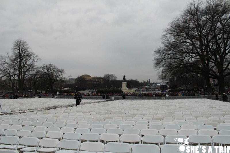 What was it like at Trump's inauguration was trumps inauguration empty