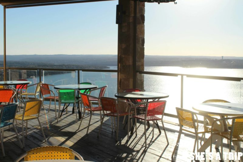 Oasis Austin Patio View where to eat in Austin best places to eat in austin places to eat lake travis