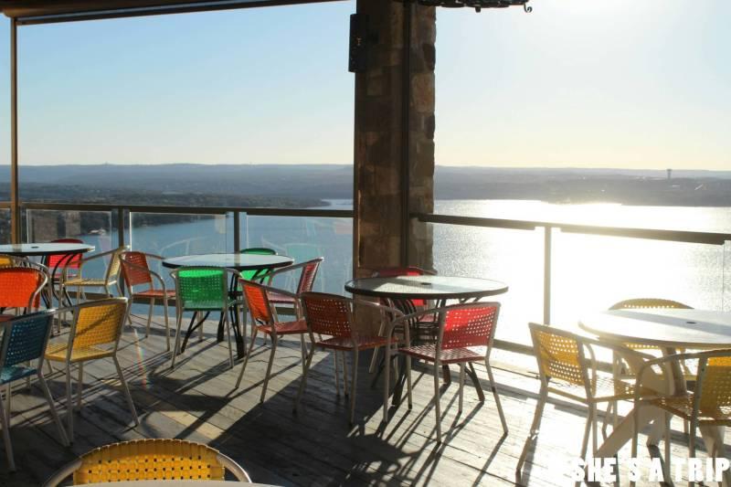 Oasis Austin Patio View