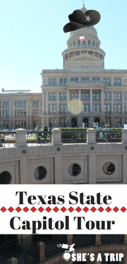Free Texas Capitol Pin