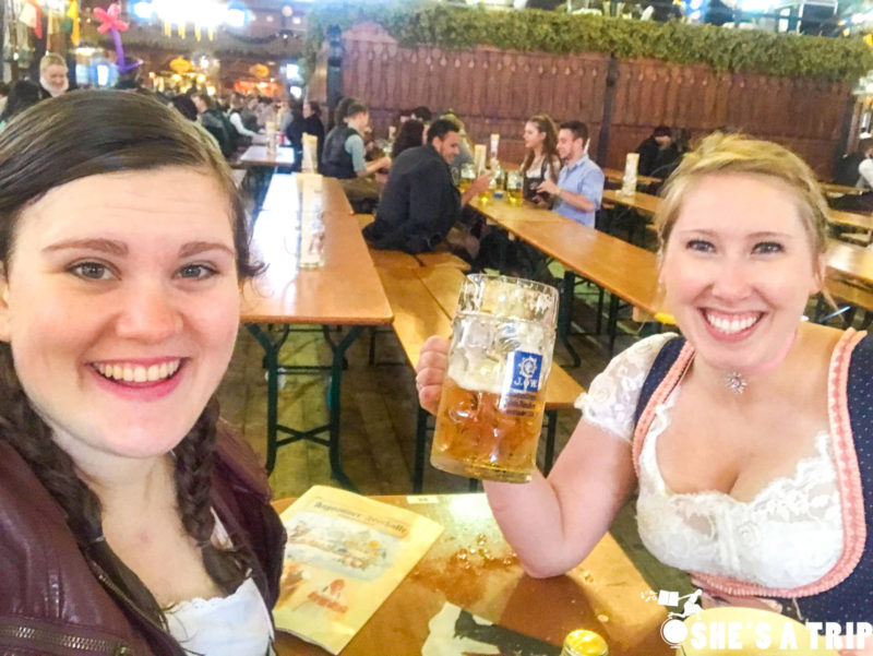 Sober at Oktoberfest Oktoberfest drinks other than beer Not drinking at Oktoberfest