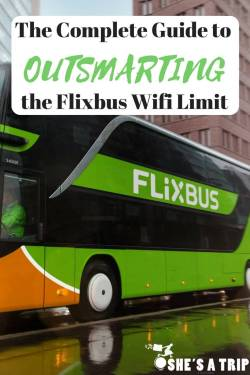 Flixbus Wifi limit