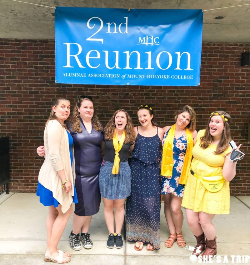mount holyoke college 2 year reunion