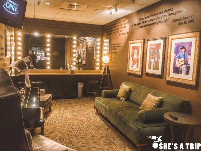 things to do in nashville with kids opry dressing room