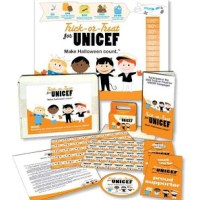>Trick or Treat for UNICEF….