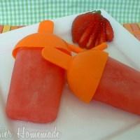 Guest Post: Homemade Popsicles from Hoosier Homemade…