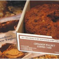 Winner, Winner, WINesday #3 … My Grandma's of New England Coffee Cake Review and Giveaway…