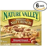 Nature Valley Roasted Nut Crunch Granola Bars Almond Crunch 6-Count Boxes (Pack of 6) for $11.98 Shipped