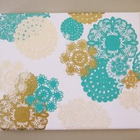 Doily Canvas Art