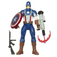 Marvel Captain America Electronic Feature Play Action Figure for $11.95 Shipped