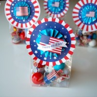 FREE Printable Fourth of July Treat Bag Topper