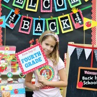 FREE Back to School Printables for Parties and Decorations