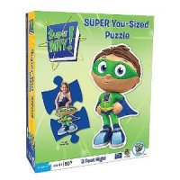 BePuzzled Super Why! Super You-Sized Puzzle for $10.95 Shipped