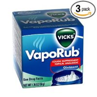 Vicks VapoRub Topical Cough Suppressant Ointment (Pack of 3) for $8.37 Shipped