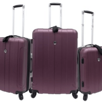 Travelers Choice Luggage Set For $125.99 Shipped