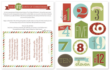 Christmas Countdown Free Printable Download