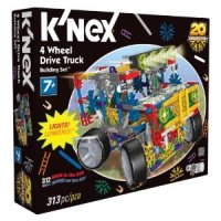 KNex 4 Wheel Drive Truck for $11.24 Shipped