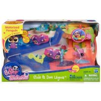 Littlest Pet Shop Slide and Dive Playset for $9.74 Shipped