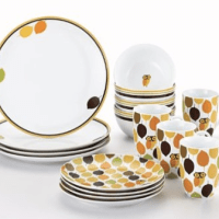 Rachael Ray Little Hoot 16-Piece Dinnerware Set for $49.97 Shipped