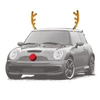Reindeer Auto Outfit for $5.99 Shipped