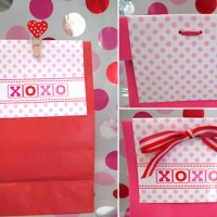 FREE Valentine Treat Sack Topper
