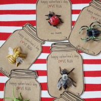 FREE Printable Love Bug Valentines