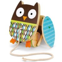 Owl Pull Toy for $9.56 Shipped