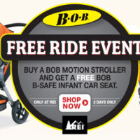 BOB Free Ride Event | FREE Infant Car Seat with Bob Motion Stroller Purchase