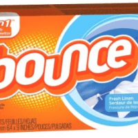 Bounce Dryer Sheets (160count) for $6.50 Shipped