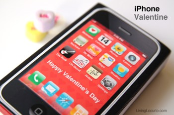 iPhone Valentine