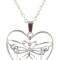 Butterfly Necklace Set for $3.96 Shipped