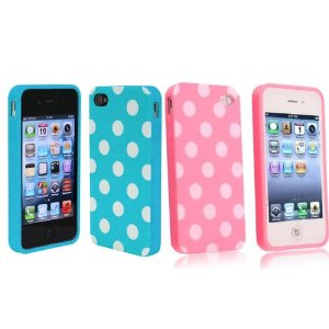 Polka Dot iPhone Gel Case