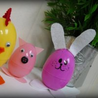 Plastic Easter Egg Animals | Fun Kids Craft