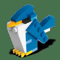 FREE Mini Model Build | LEGO Blue Bird