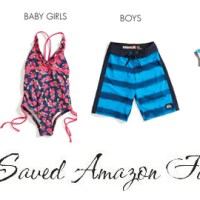 New Swim Arrivals at Amazon | 20% Off With Code