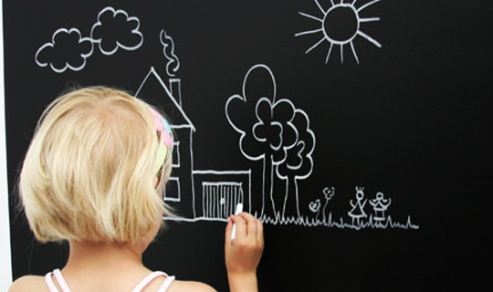 Peel and Stick Chalkboard