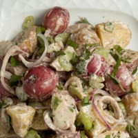 Balsamic Potato Salad Recipe