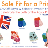 BabyLegs.com Sale | 50% Off Royal And Select Newborn Styles