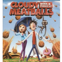 Cloudy With A Chance Of Meatballs Blu-Ray For $5 Shipped