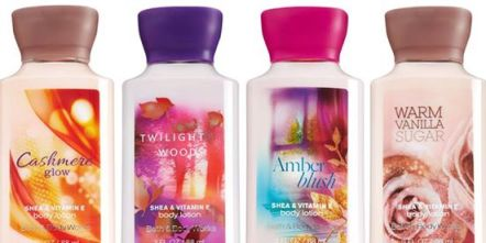 FREE Bath & Body Works Travel Size Body Lotion