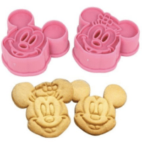 Mickey Minnie Cookie Cutter Set For $1.59 Shipped