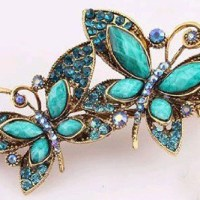 Vintage Butterfly Hairpin For $3.01 Shipped